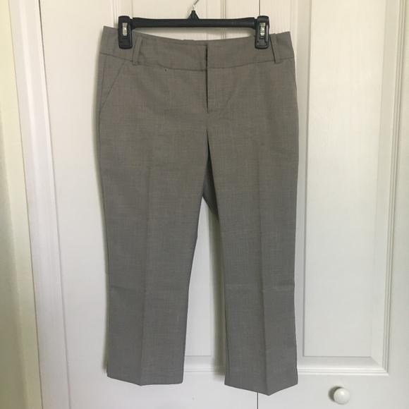 Mossimo Supply Co. Pants - Mossimo capris light grey silver pants